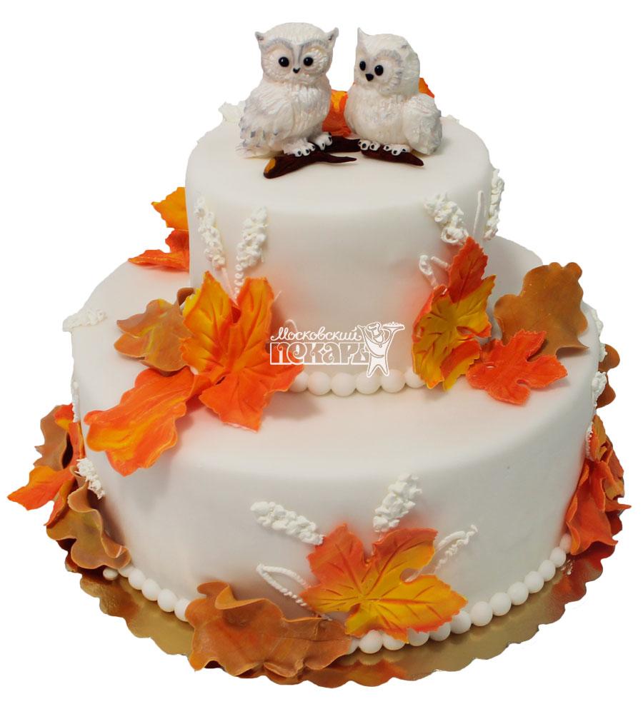 №221 Свадебный торт классический