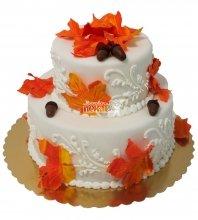 №304 Свадебный торт классический
