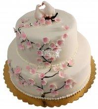 №277 Свадебный торт классический