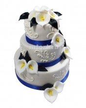 №259 Свадебный торт классический