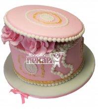№473 Торт на день рождения шкатулка
