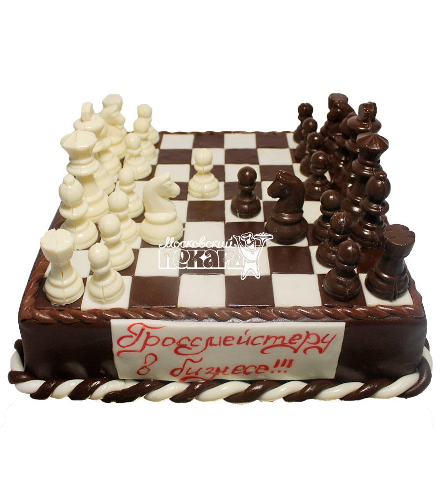 №474 Торт шахматы