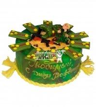 №479 Торт на день рождения погоны