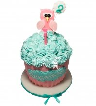 №487 Детский торт на 2 годика