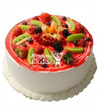 №491 Торт с фруктами