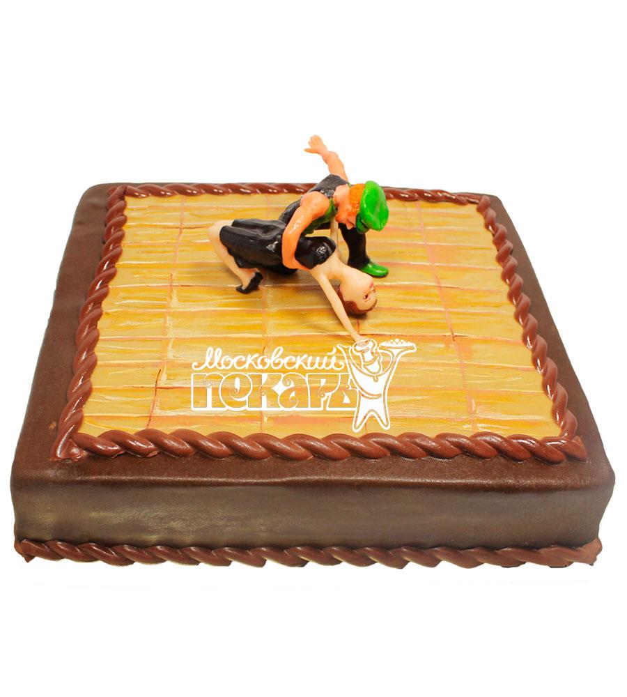 №496 Торт танцы