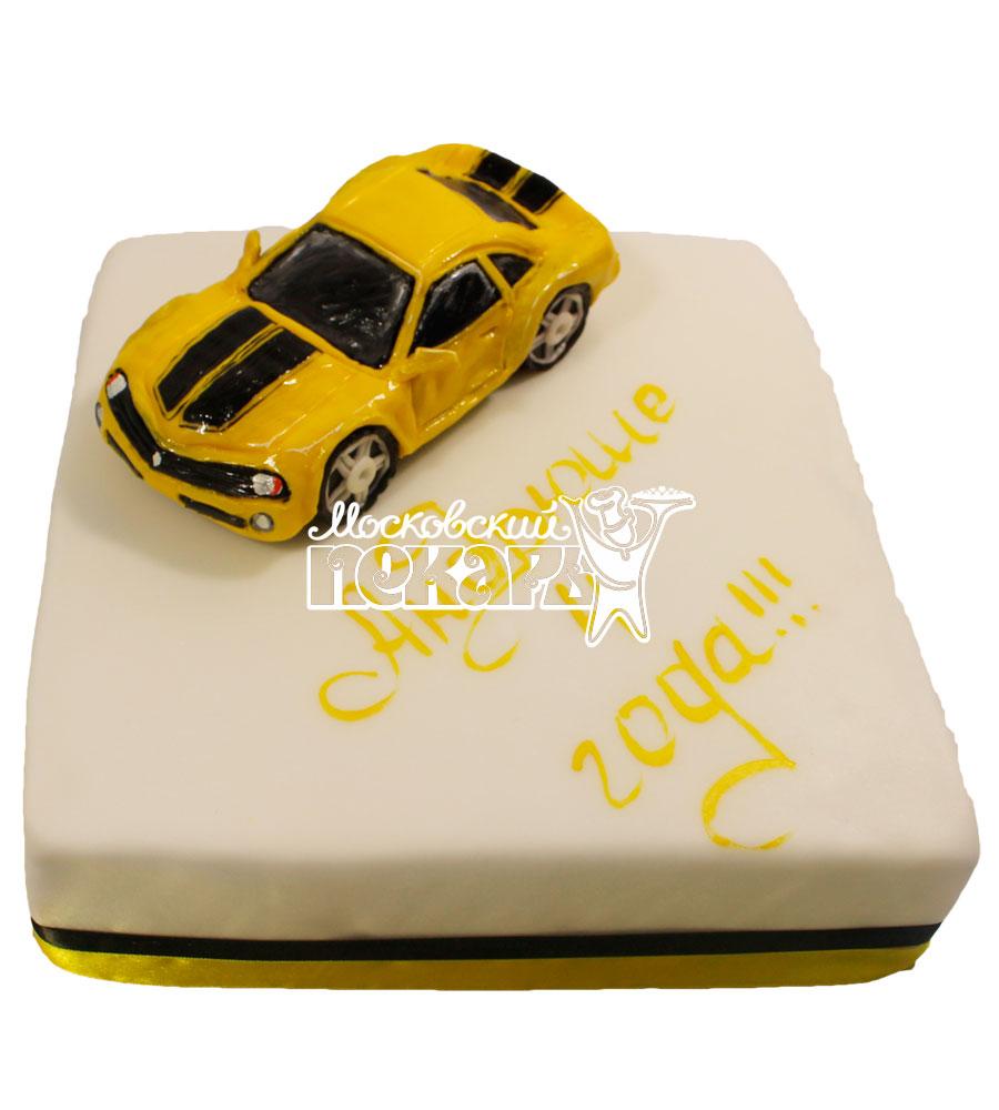№501 Торт с машиной