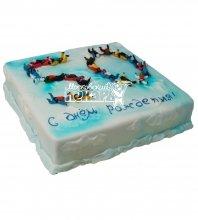 №503 Торт на юбилей