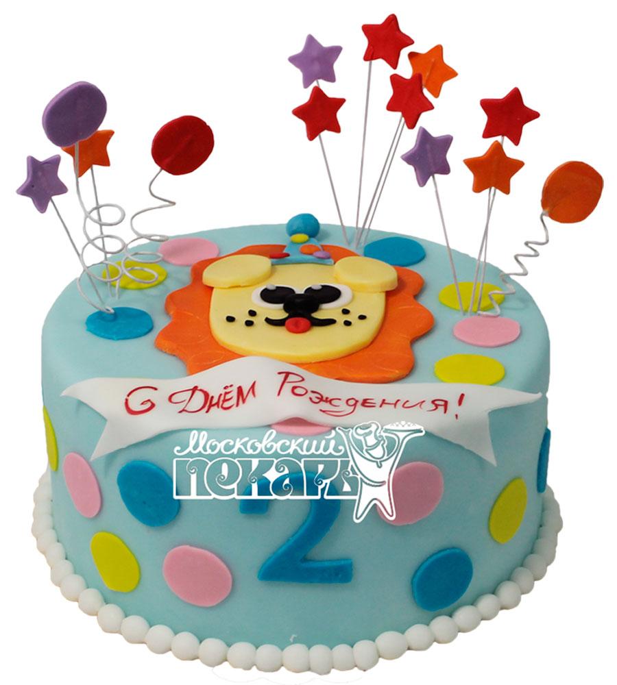 №506 Торт на 2 годика