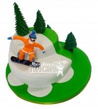 №507 Торт сноуборд