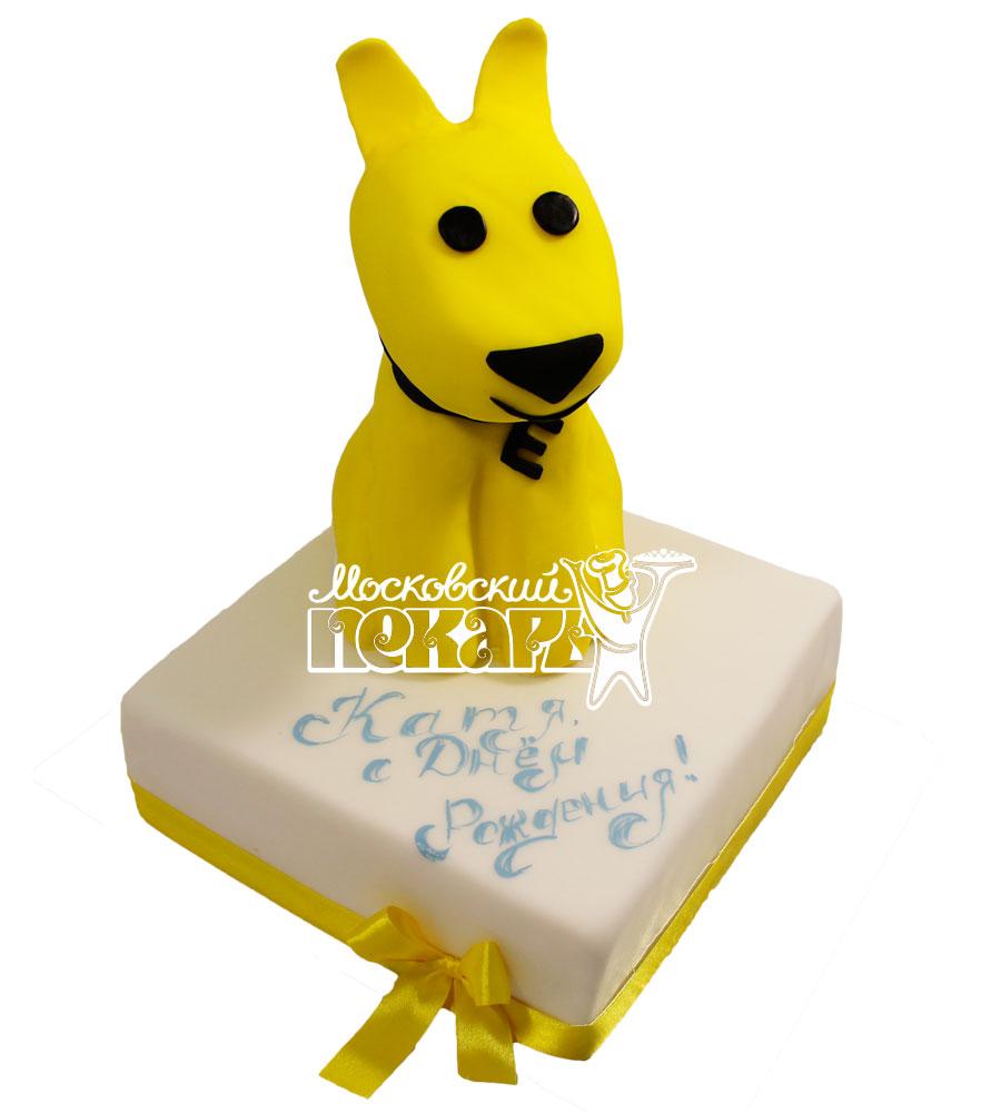 №511 Торт с собачкой