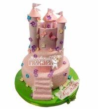 №523 3D Торт замок