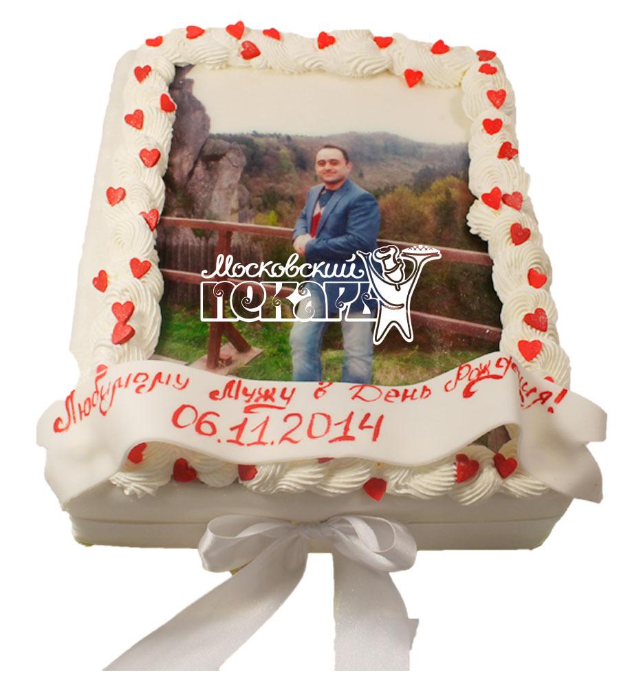 №525 Торт с фотографией