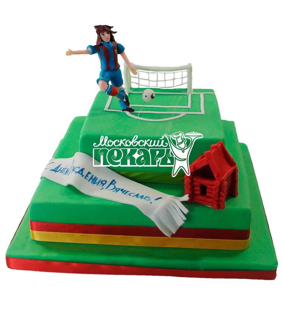 №531 Торт с футболистом