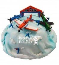 №537 Торт с самолетами