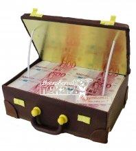 №542 Торт чемодан с деньгами