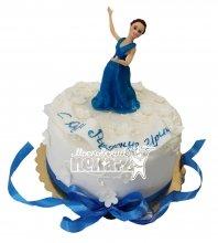 №551 Торт на день рождения с девушкой