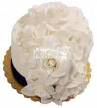 №565 Небольшой свадебный торт