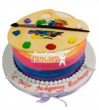 №566 Торт для художника