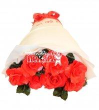 №567 3D Торт букет роз
