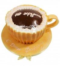 №568 3D Торт чашка кофе