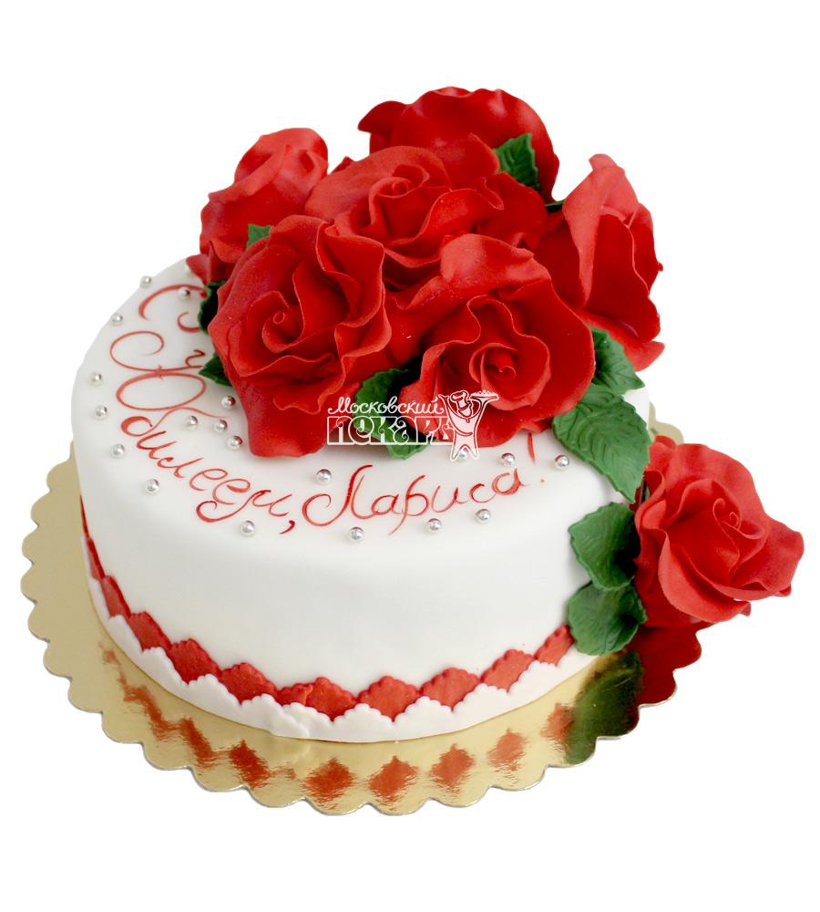 №573 Торт с цветами