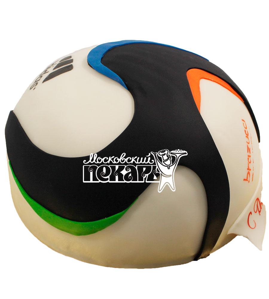 №584 Торт футбольный мяч