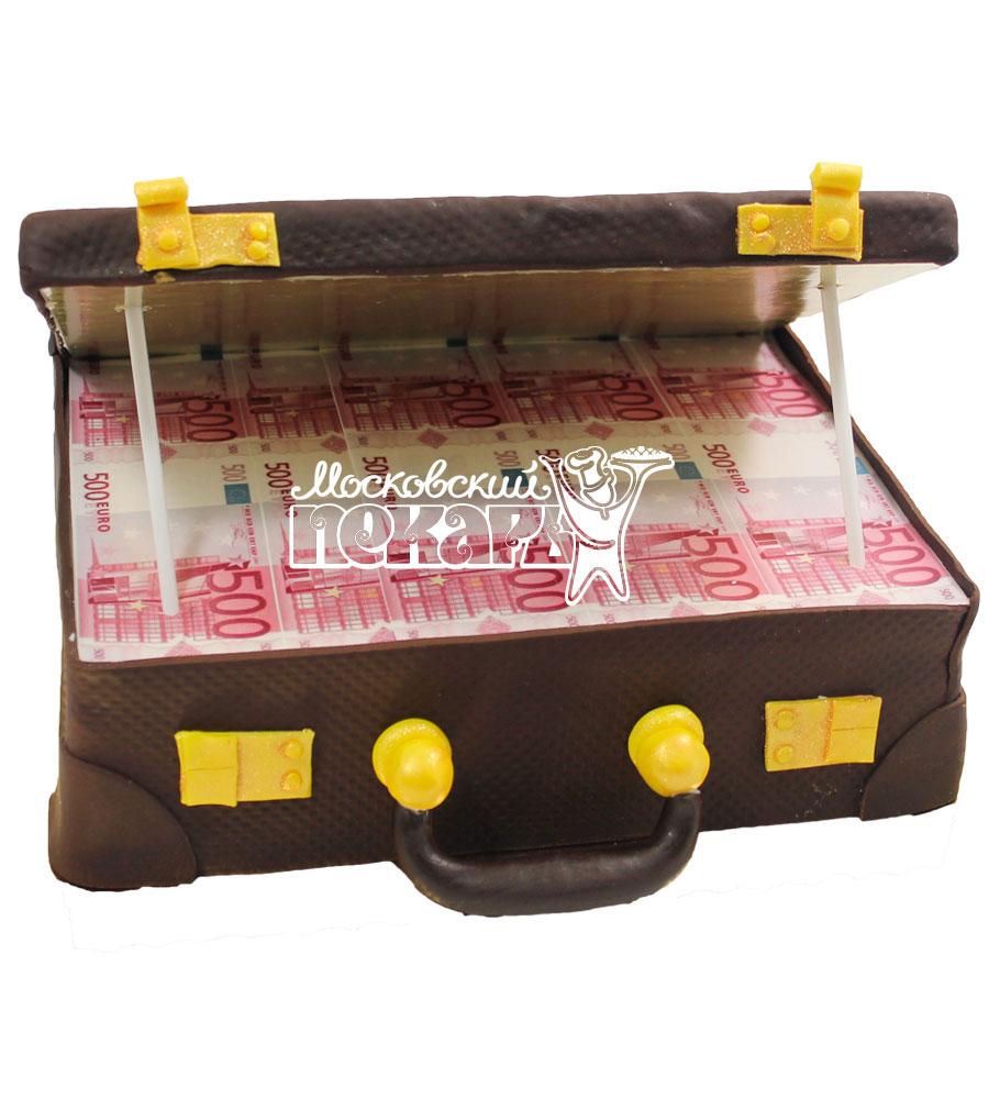 №588 Торт чемодан с деньгами