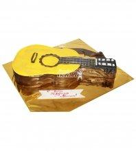 №600 3D Торт гитара