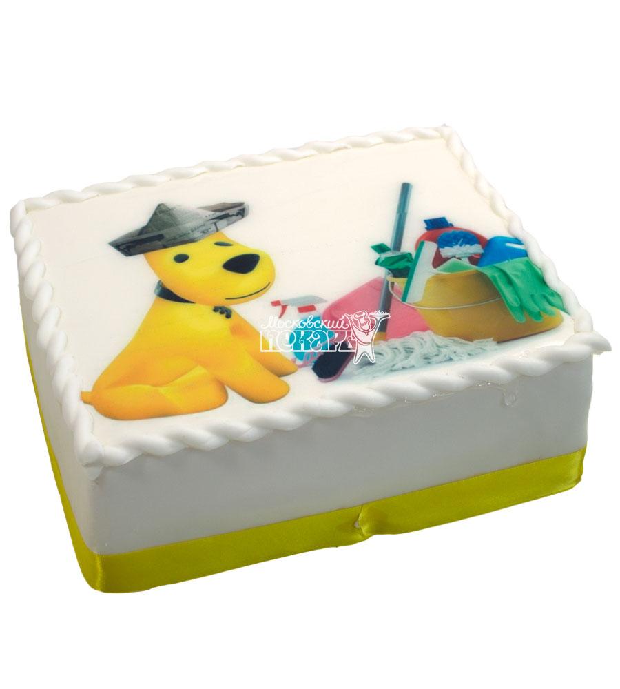 №611 Торт с собачкой