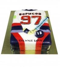 №615 Торт хоккейная форма