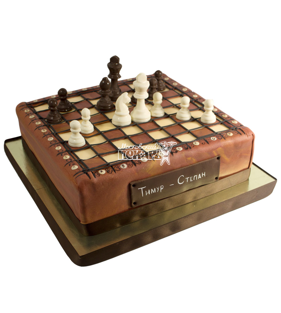 №636 Торт шахматы