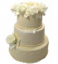 №644 Свадебный торт классический