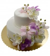 №651 Свадебный торт небольшой