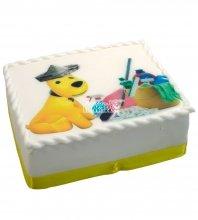 №662 Торт с собачкой