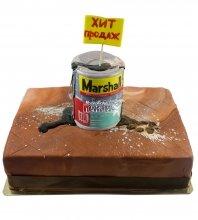 №665 Корпоративный торт