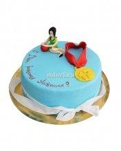 №053 Детский торт с медалью
