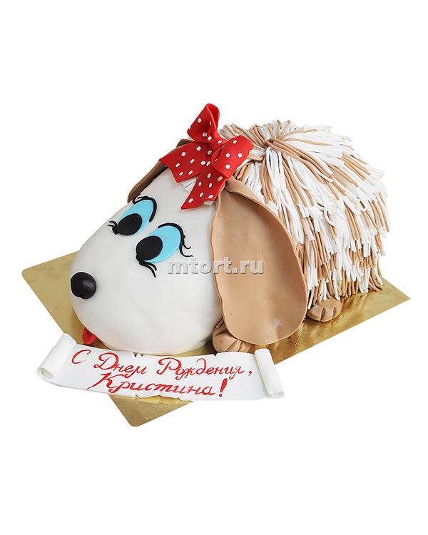 №057 Детский торт с собачкой