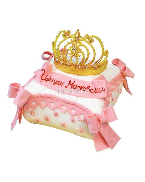 №069 Детский торт с короной