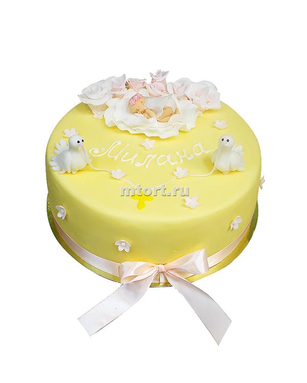 №079 Детский торт на рождение