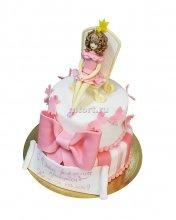 №091 Детский торт принцесса