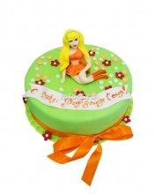 №105 Детский торт с девочкой