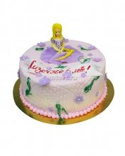 №106 Детский торт с девушкой