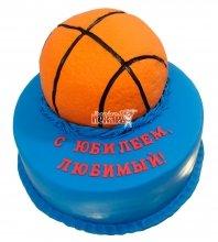 №113 Торт с баскетбольным мячом