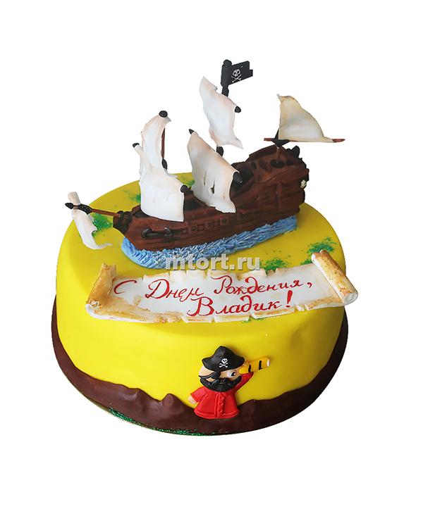 №123 Торт пиратский