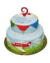 №140 Детский торт на день рождения