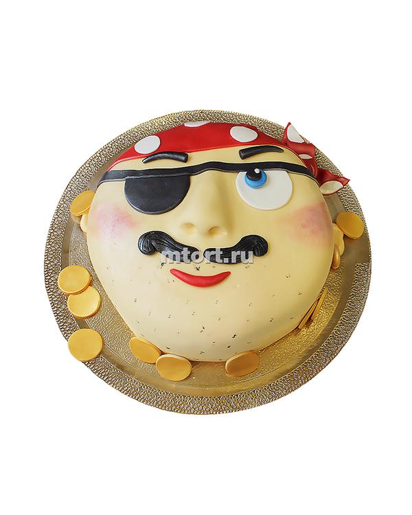 №143 Детский торт с пиратом