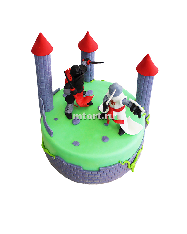 №147 Детский торт рыцари