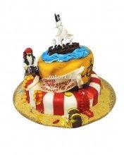 №152 Детский торт с пиратом