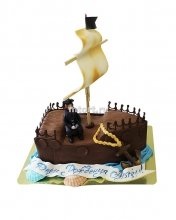 №162 3D Детский торт пиратский